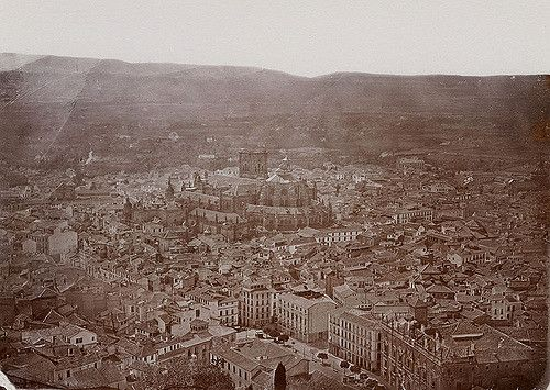 https://flic.kr/p/7CqkAr | Granada with Cathedral, Spain | Granada in Andalusia, with the Cathedral in the middle of the picture.  Granada i Andalusien i Spanien, med katedralen i mitten av bilden.   Location: Granada, Andalucía, Spain   Photograph by: Carl Curman Date: 1878 Format: Albumen print  Persistent URL: www.kms.raa.se/cocoon/bild/show-image.html?id=16001000211486  Read more about the photo database (in english): www.kms.raa.se/cocoon/bild/about.html