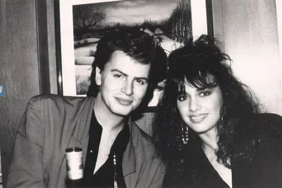 John Taylor and Susanna Hoffs-Bangles