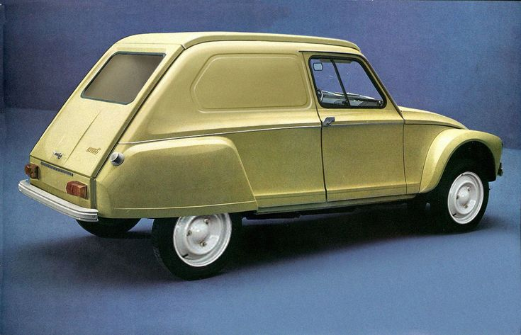 What if Citroën made a prototype of a Dyane Service in 1967