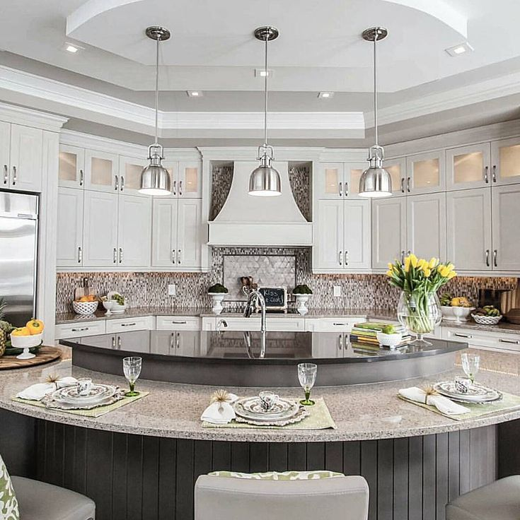 Best 25+ Round Kitchen Island Ideas On Pinterest
