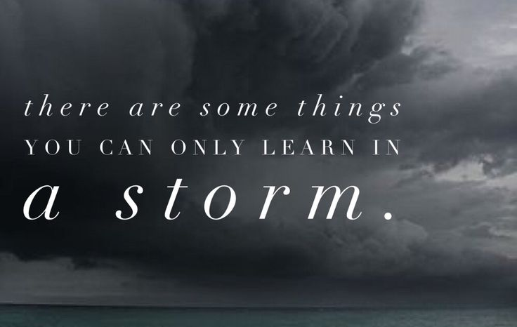 Storms – A WholeHearted Life