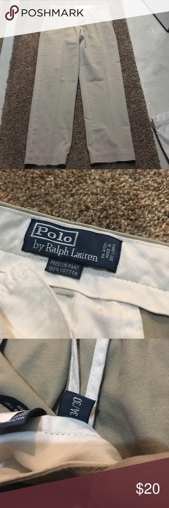 Men's polo khaki pants Men's  size 34/30 Polo khaki pants Polo by Ralph Lauren Pants Chinos & Khakis