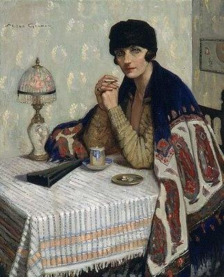 /Art Women, Australian Painters, Noyes Goodsir, Art Blog, Agnes Goodsir, Agnes Noyes, Cigarettes 1925, 1864 1939, Women Artists
