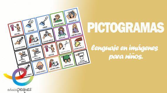 Los pictogramas son imágenes comunicativas muy específicas, y que expresan algún mensaje que se desea trasmitir. Fichas con ejemplos de pictogramas