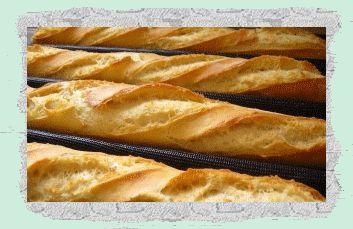 Des Empreintes ... dans ma Cuisine !!!: Bonnes baguettes croustillantes ...
