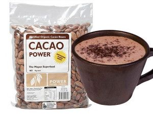 Hot-Chocolate with cacao powder. I add Red Ape cinnamon shake... It's awesome!