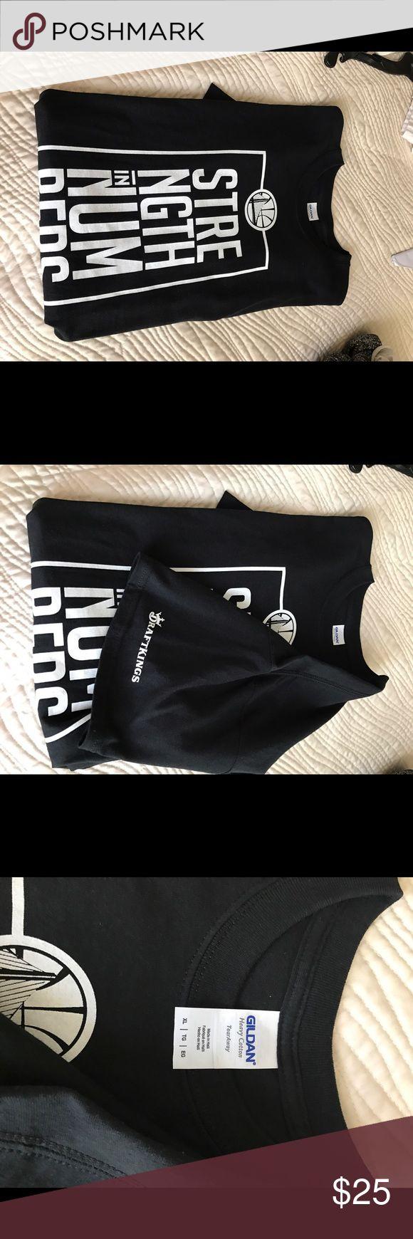 Warriors t shirt by draft kings Brand new Golden State Warriors shirt Shirts Tees - Short Sleeve