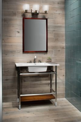 Birch Forest Gray Wood Plank Porcelain Tile - 6in. x 36in. | Floor and Decor