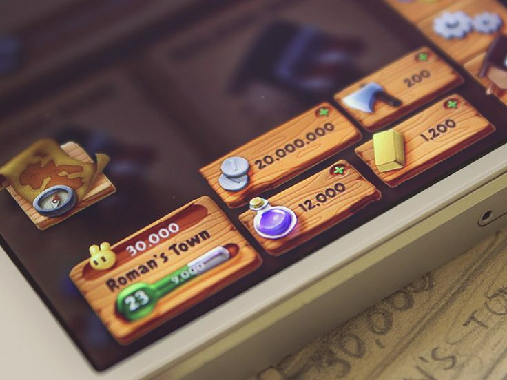 Game GUI by Román Jusdado