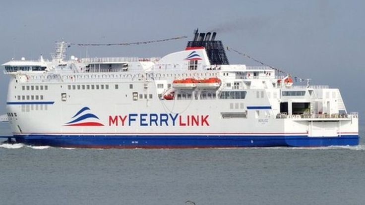 Unexploded WW2 mines disrupt Dover to Calais ferries