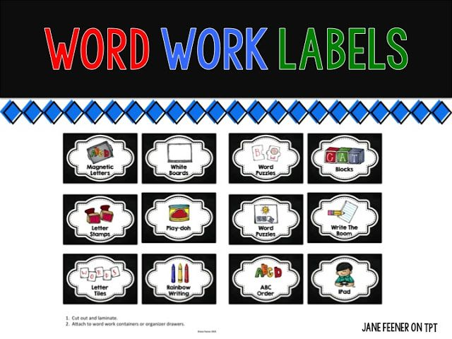 Who's Who and Who's New: Back to School Labels
