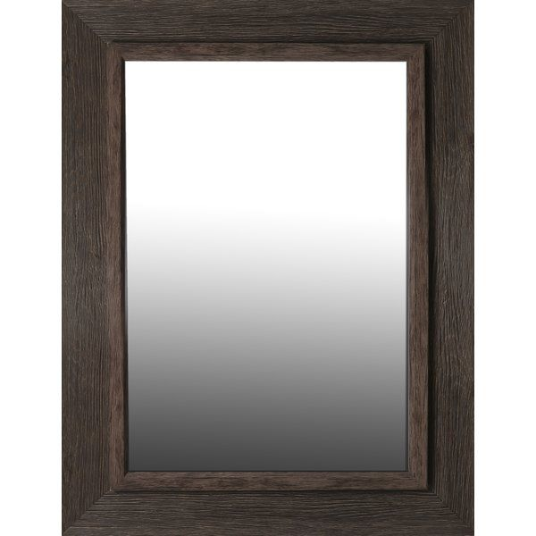 This real wood aged mirror is made of plain mirror. Ready to hang this mirror is brought to you.