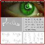 Πρωτοποριακή συσκευή που επιτρέπει σε τετραπληγικούς να σχεδιάζουν με τα μάτια [Video] | Περιοδικό Αυτονομία - Disabled.GR