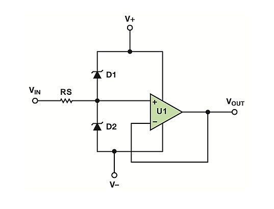 533 best images about electrical concepts overvoltageprotection situation occur in which the inputs of the op amp get driven
