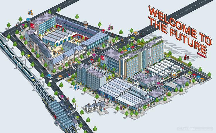 Welcome to the Future: Staffordshire Uni Development on Behance