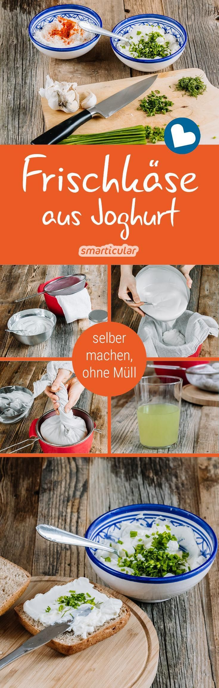 If you want fresh cheese without plastic packaging, you can hardly get around …  – Küche und Ernährung