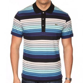 Lacoste striped polo t-shirt