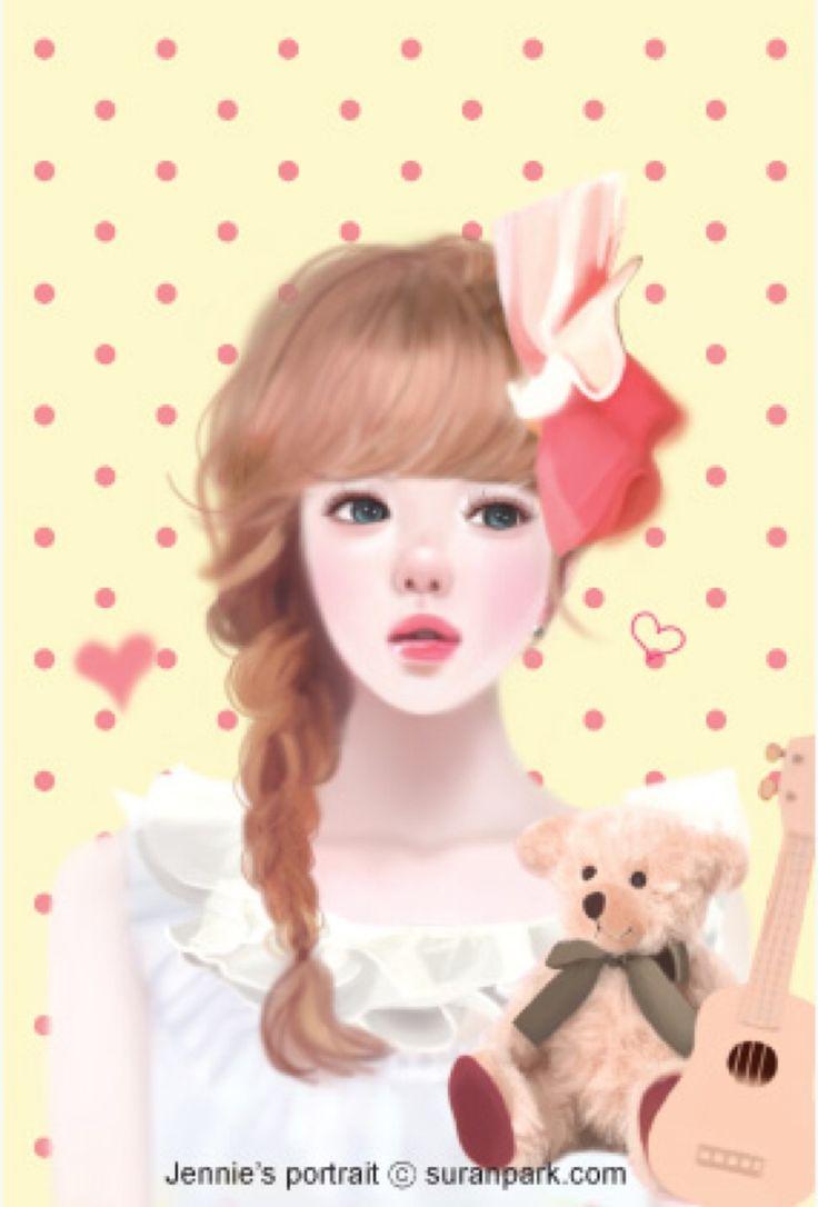 best 25+ cute girl wallpaper ideas on pinterest   chibi girl, cute