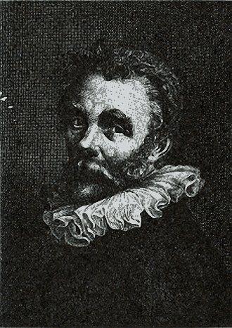 Hendrik Bary Gravure van Cornelis Ketel. 1659 г.
