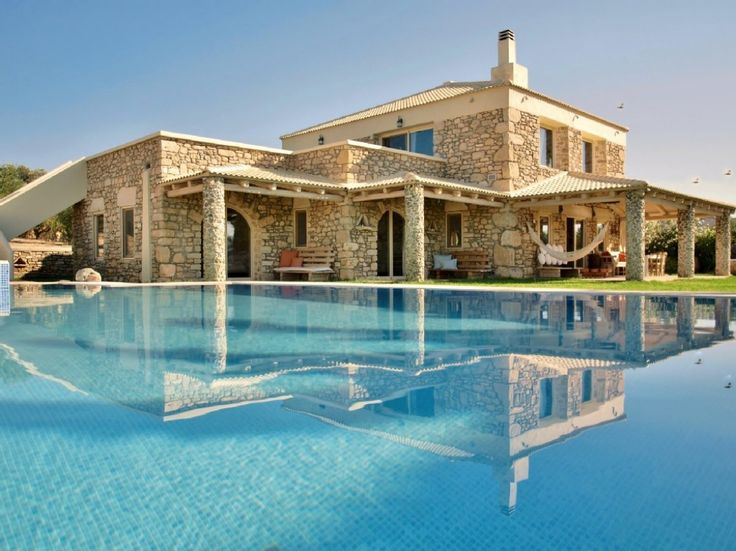 Holiday Villa Rental In Heraklion. Stone Holiday Residence On The Slope Of  The Hill. Simplicity, Wood And Stone; These Are The Key Elements Of.