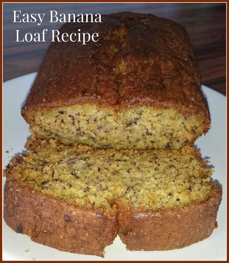 easy banana loaf recipe