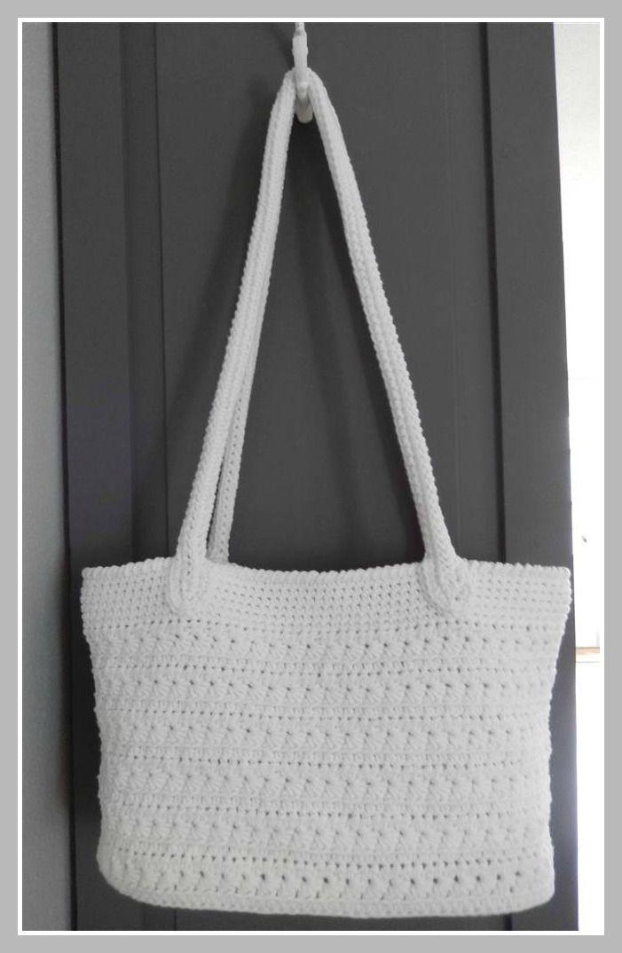 Als opvolger van de Sas-Tas die ik haakte heb ik nu een zomer-tas gehaakt. Ook het voorbeeld voor deze tas heb ik weer via Pinterest. (KL...