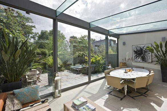 Tromb 233 Contemporary Modern Conservatories And