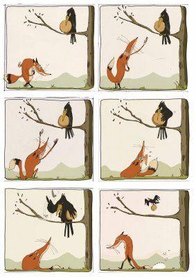 Le Corbeau et le Renard - Les bons plans de Gandalf
