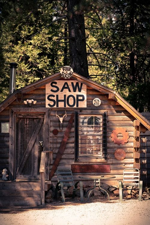 Rustic Man Cave Shed : Images about rustic cabin on pinterest