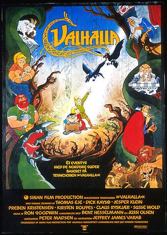 Valhalla (Peter Madsen, DK, 1986) Through Loki's treachery, two children in the Viking age find themselves spirited away into the world of Norse Mythology.