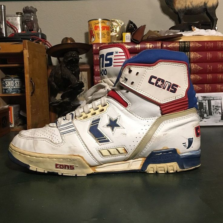 Vintage Converse CONS ERX-400 Basketball Shoes Sz 13 Rare | eBay