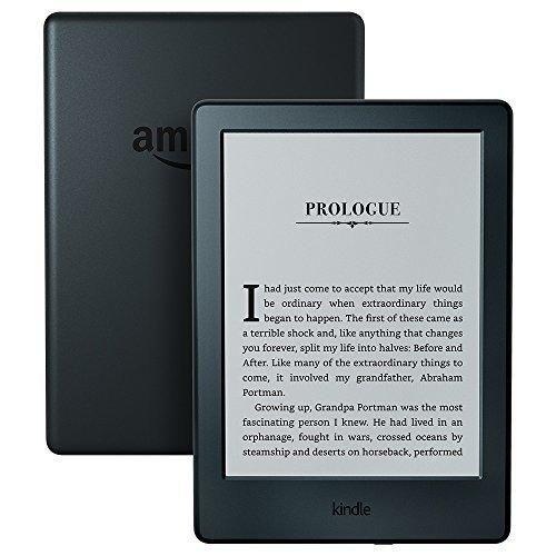 "Kindle E-reader - Black 6"" Glare-Free Touchscreen Display Wi-Fi"