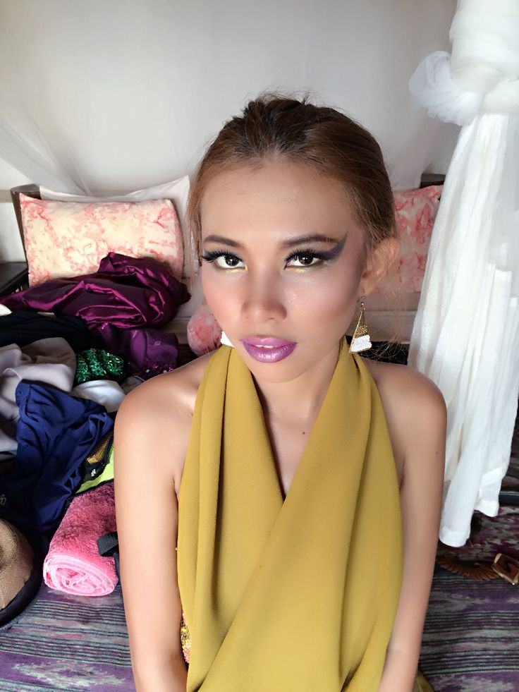 Beauty make up for photoshoot