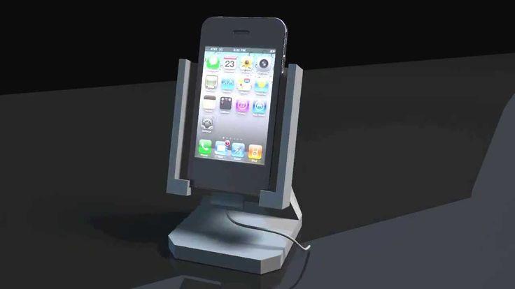 iPhone holder 3D print