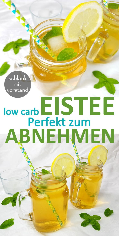 Make iced tea low carb yourself – low carb recipes – slim mean – Rezepte