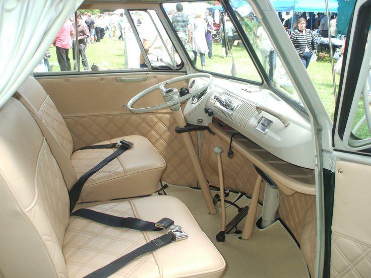 1000 ideas about kombi interior on pinterest vw camper for Kombi van interior designs
