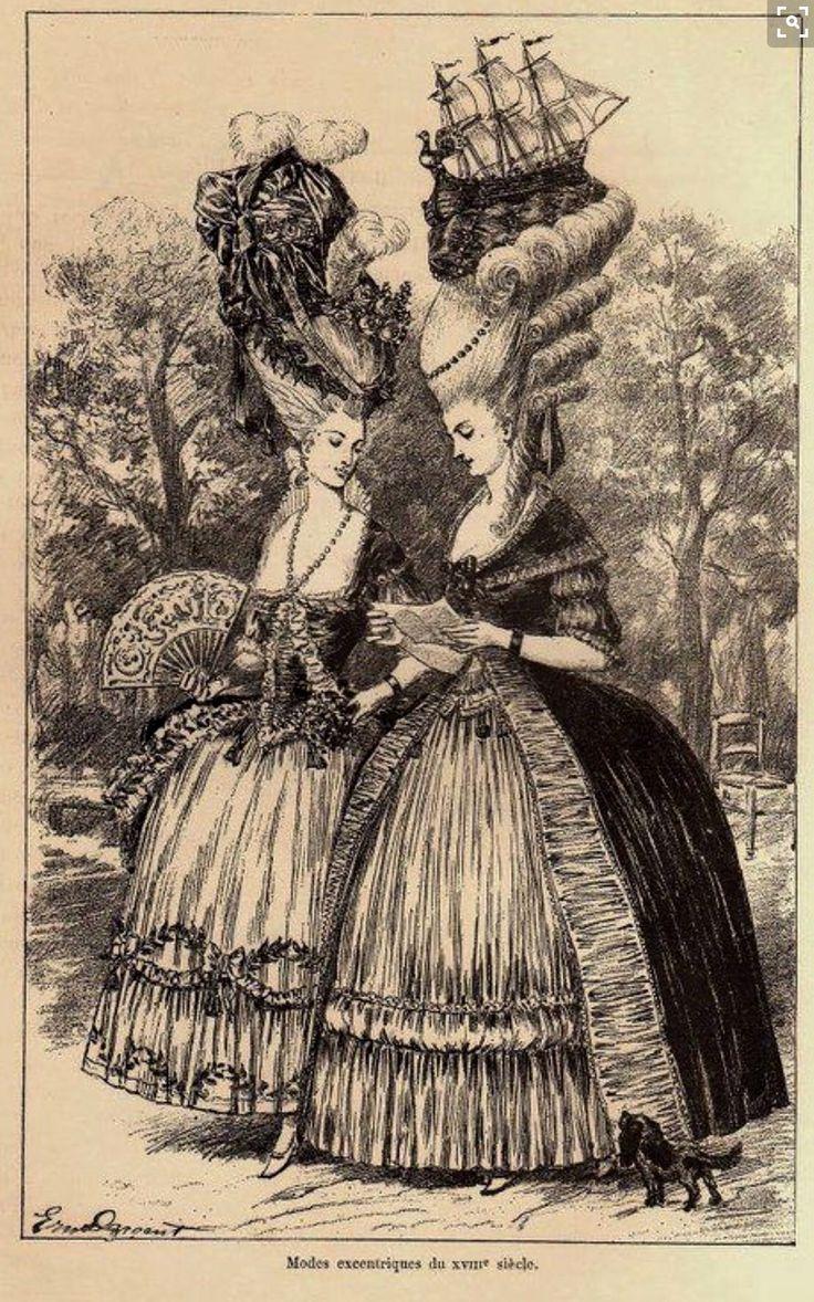 {HALLOWEEN COSTUME HINTS} Maria Antonieta y la Princesa de Lamballe