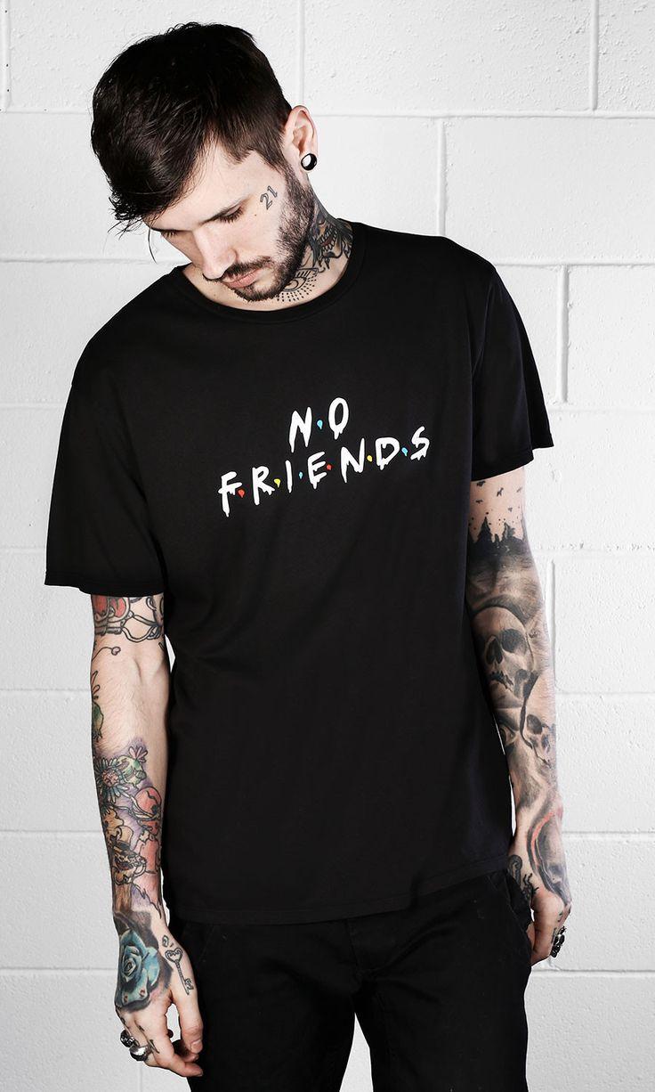 Photo of No Friends T-Shirt