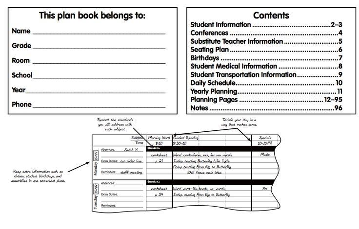 Instructions for easy use!  http://www.carsondellosa.com/cd2/Products/BohoBirdsPlanBook/RecordPlanBook/104788