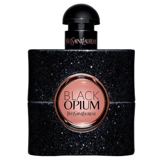 Yves Saint Laurent -  Black Opium - 30 ml - Eau de parfum  Yves Saint Laurent lanceert Black Opium, een rock-'n-roll interpretatie van de klassieker die de donkere, mysterieuze kant van het merk benadrukt. De geur is samengesteld van noten van koffie, roze peper, oranjebloesem, jasmijn, vanille, patchouli en ceder. De fles is als die van Opium in donkere uitvoering met pailletten, wat de flacon een glam rock look geeft.