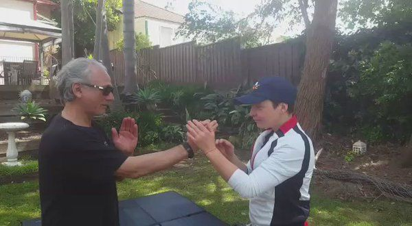 """Tamar Salas on Twitter: """"Having a load of fun with my CEO's yesterday #KungFu #wingchun #relaxation #mindfulness #tamarsalas #leadership #businesssuccess #success https://t.co/TnQbT8pA7F"""""""