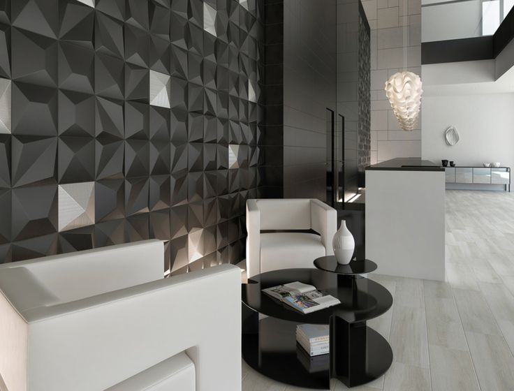 SHAPES Black / Kioto Silver   25x25. Feature WallsColor ... Part 63
