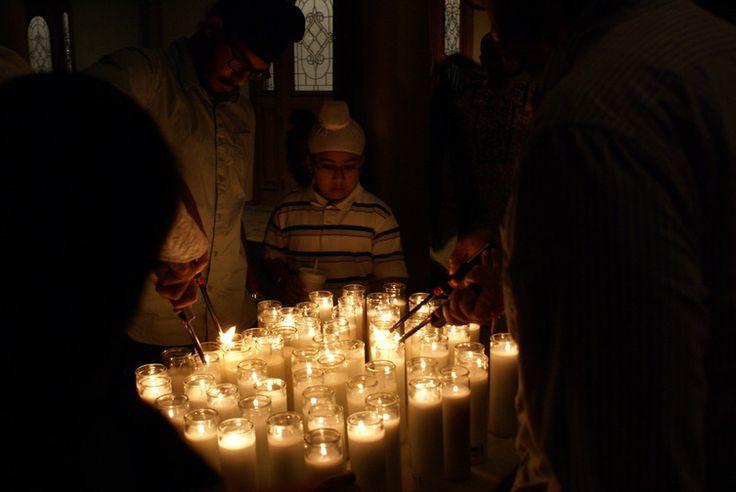 Sikh Prayer and Candlelight Vigil