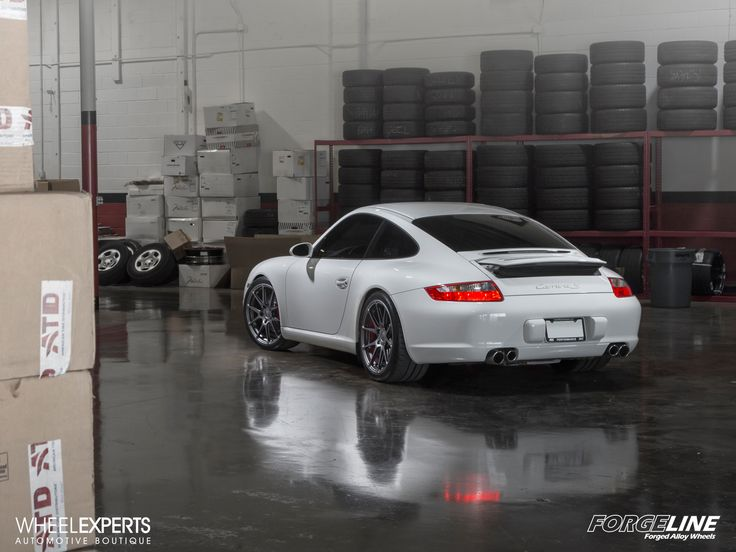 Our friends at Wheel Experts equipped this gorgeous Porsche 997 Carrera S with these 19x8.5/19x11 Forgeline one piece forged monoblock GA1R wheels finished in Satin Graphite and wrapped with super-sticky Michelin Pilot Sportcup2 tires! See more at: http://www.forgeline.com/customer_gallery_view.php?cvk=1509  #Forgeline #forged #monoblock #GA1R #notjustanotherprettywheel #madeinUSA #Porsche #CarreraS