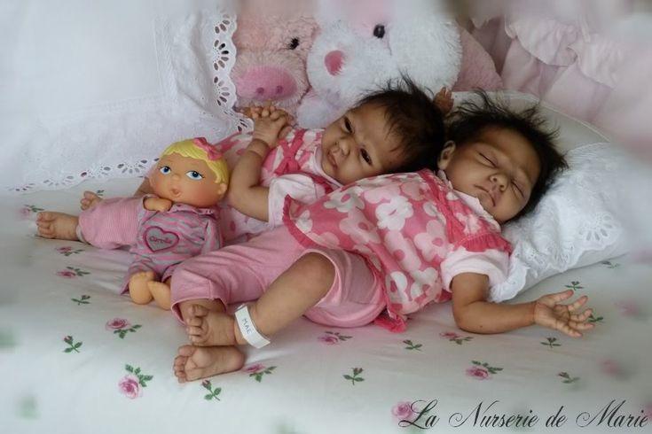 Reborn Baby Girl Doll Prototype Danielle Zweers Twins