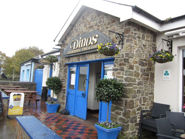 Dino's Fish n' Chips in Kinsale. Absolutely fresh fish n chips. Also had the delicious potato leek soup. Loved this charming town!