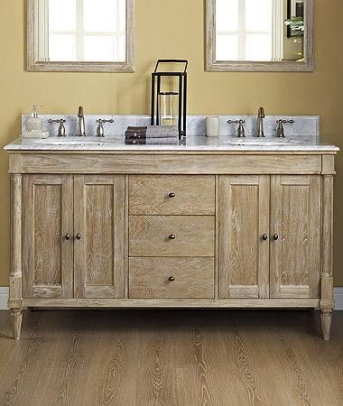 Rustic Bathroom Double Vanity best 25+ 60 inch vanity ideas on pinterest | craftsman makeup