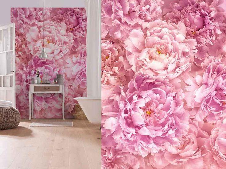 Fototapet floral Komar Soave - delicateţe şi prospeţime pentru camera ta.