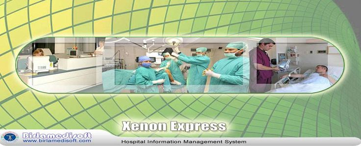 Hospital Information Management System - Xenon Express Features Low cost HIMS software. Special modules of pathology and Radiology with centralized billing system. Facility for interlinking with HIMS software for placing orders for investigation and viewing reports for labs. CT SCAN + MRI modules for reporting of CT SCAN and MRI. 15 MIS report for tracking of Hospital Management System. Medical Store Module for Medical Dispensing Counter. info@birlamedisoft.com  020- 65106271/72
