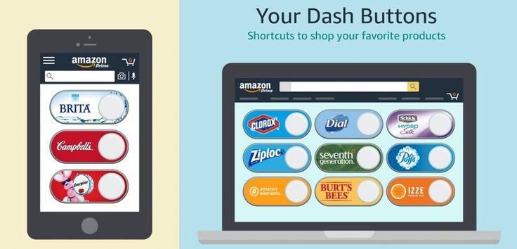 Amazon lanza Dash Buttons virtuales para sus aplicaciones - http://www.actualidadiphone.com/amazon-lanza-dash-buttons-virtuales-para-sus-aplicaciones/